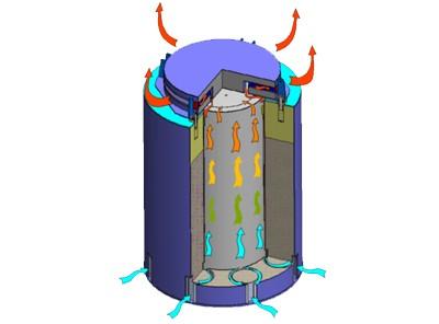 Хранение отработанного ядерного топлива