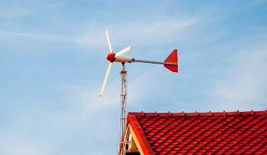 Домашняя ветровая электростанция