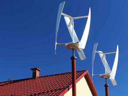 Своя ветровая электростанция на крыше частного дома