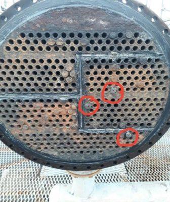 Очистка технологического оборудования КХ-2, КХ-3