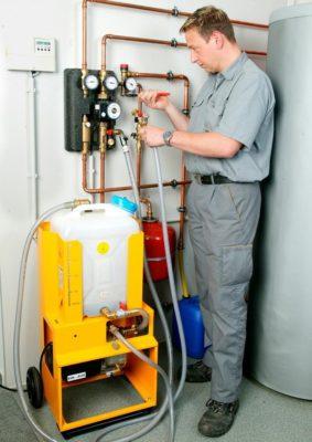 Промывка системы водоснабжения