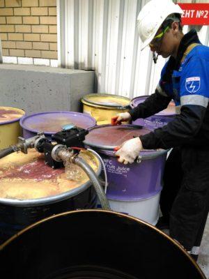 Промывка 10% раствором на основе азотной кислоты