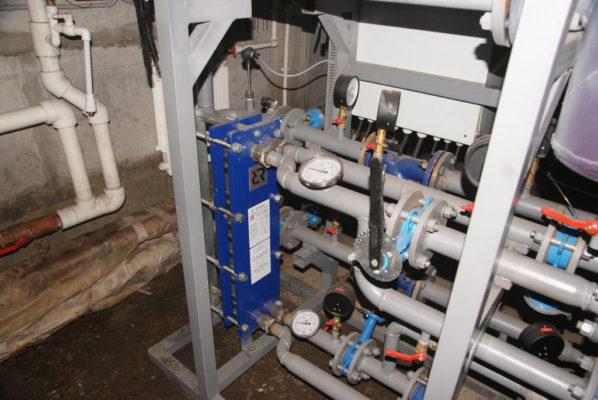 Текущий ремонт теплового пункта