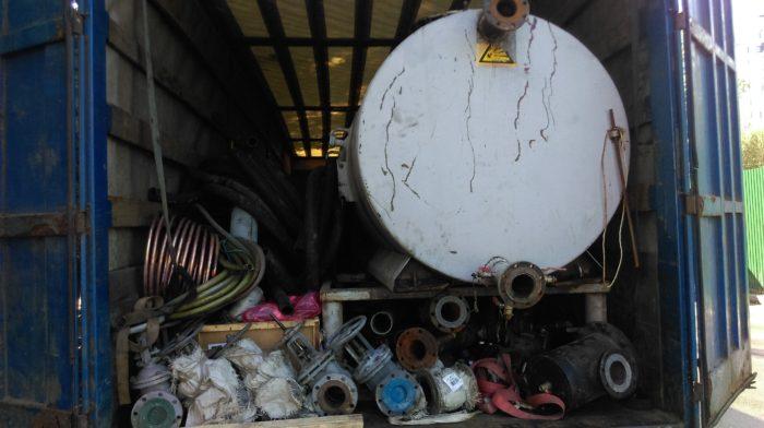 Необходимое оборудование и материалы загружены в транспорт и отправлены на объект
