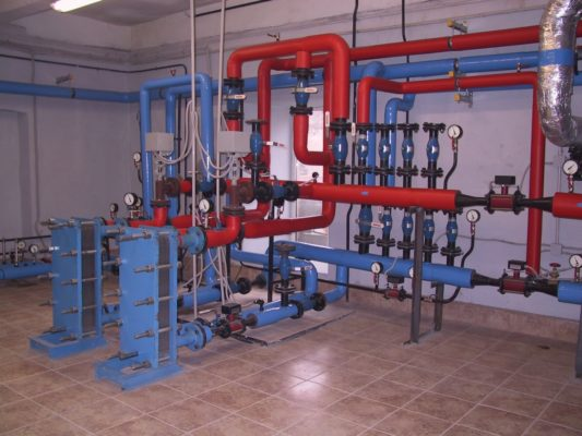 Инженерное решение - индивидуальный тепловой пункт
