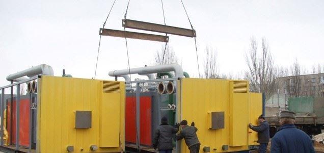 Установка модульной компрессорной станции