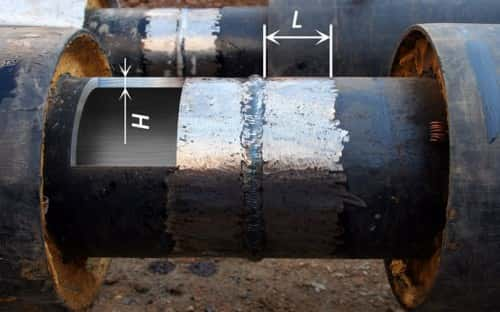 Очистка стыковых соединений от ржавчины