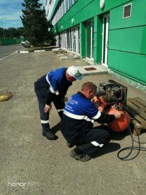 Подключение компрессорного оборудования