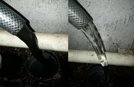 Радиаторы до и после промывки