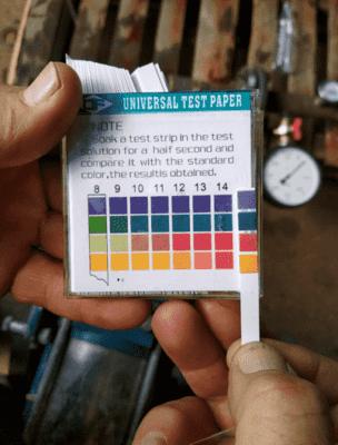 Химический тест