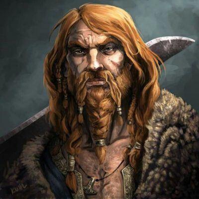 Добрый рыжий викинг