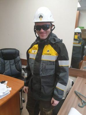 Сотрудник АСГАРД-Сервис в форме Роснефть