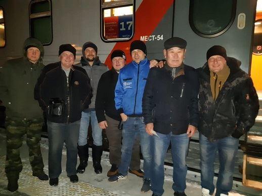 Сотрудники АСГАРД-Сервис в командировке